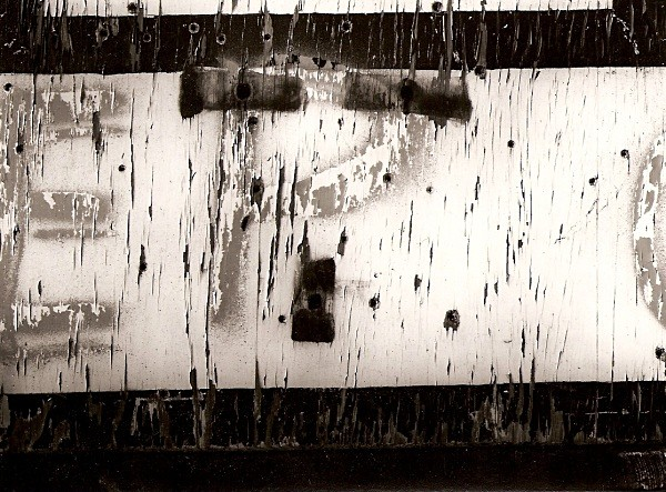 WOODEN BOARD, Aberystwyth, Ceredigion 2003 - ABSTRACTIONS
