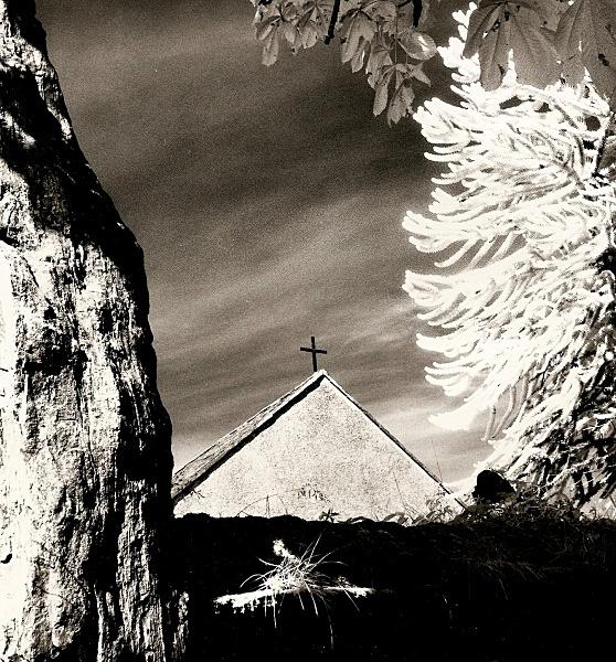 YSBYTY CYNFYN CHURCH, Ceredigion 1991 - THE WELSH LANDSCAPE
