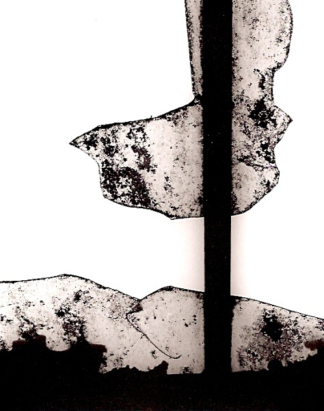 Broken Window, BANC ESGAIR MWN, Ffair Rhos, Ceredigion 2009 - OTHER WELSH RUINS
