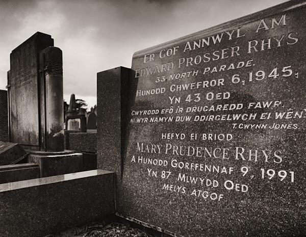Rhys Edward Prosser, Aberystwyth 2013 - POET'S GRAVES - BEDDAU'R BEIRDD