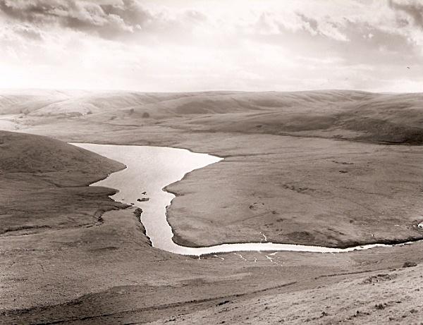 BONT ELAN, Corner of Graig Goch Reservior, Rhayader 2009 - THE WELSH LANDSCAPE