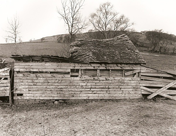 WOODEN BARN, Elan Valley, Rhadnorshire 2010 - OTHER WELSH RUINS