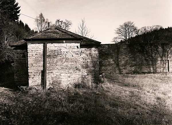 HAFOD ruins, monuments and stables, Pontrhydygroes, Ceredigion