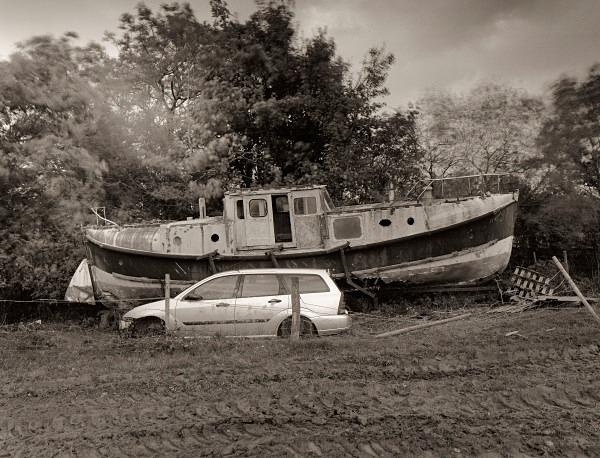 Boat, Oakford, Ceredigion 2012 - OTHER WELSH RUINS