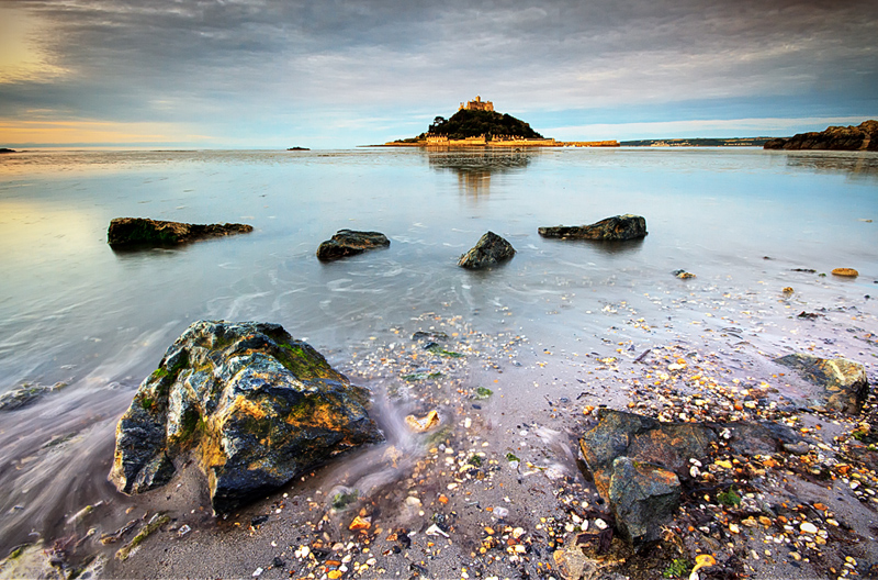 Golden Granite - Devon & Cornwall Landscapes