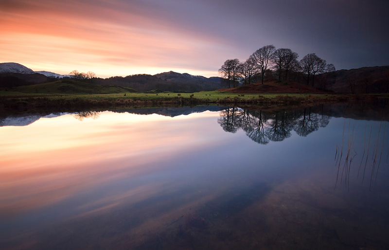 Fades to Blue - Lake District Landscapes
