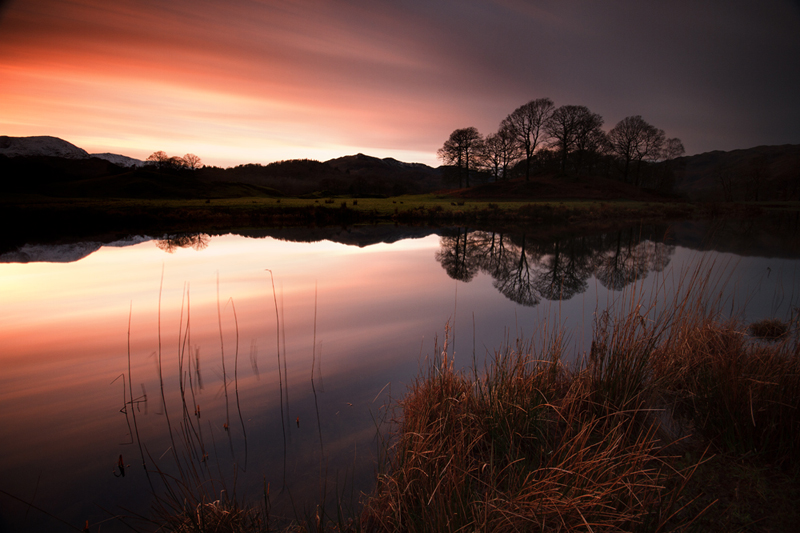 Elterwater Embers - Lake District Landscapes