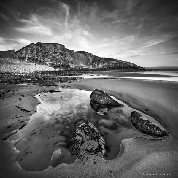 Trwyn Y Wits Mono_MG_4575 - Arfordir De Cymru / S. Wales Coast