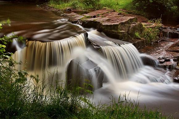 Waterfall at Taf Fechan - Bannau Brycheiniog / Brecon Beacons