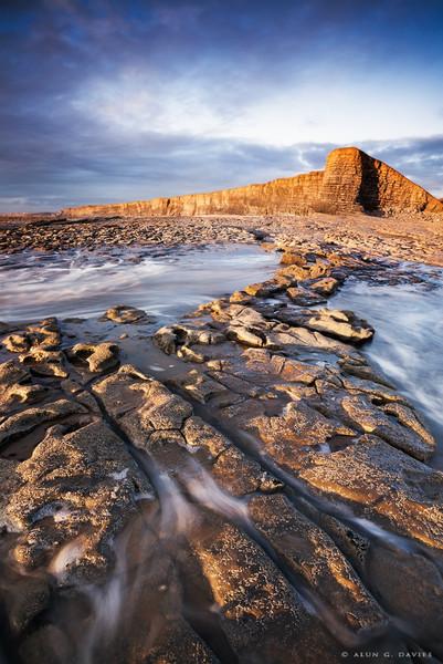 Trwyn Yr As Fach - Nash Point 2 - Arfordir De Cymru / S. Wales Coast