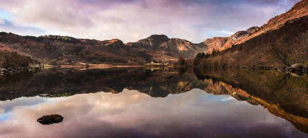 Crafnant Stitched_Panoram - Eryri / Snowdonia