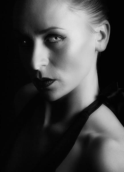 A Dark Look - Portraits