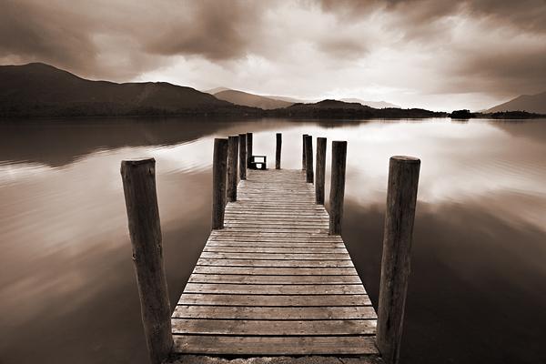 Derwentwater Jetty - Lake District