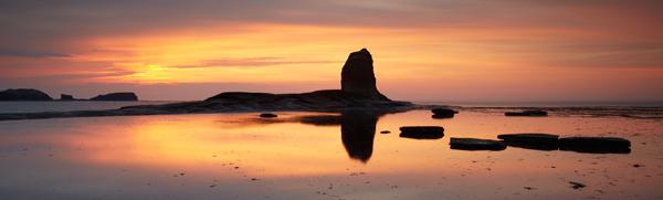 Solstice Sunset - Yorkshire Coast
