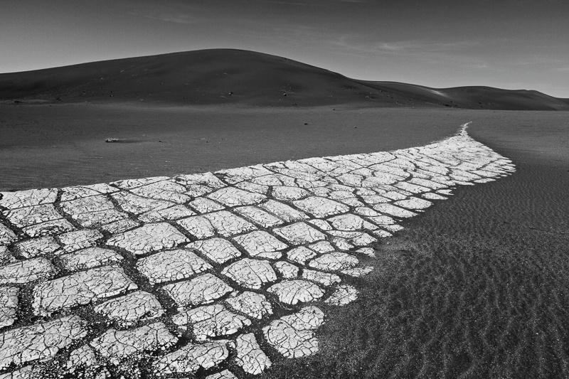 Cracked Clay Spur - Deadvlei - Namibia - 2014