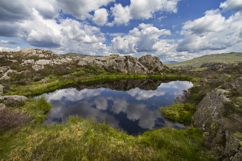 Tarn on Haystacks - English Lake District