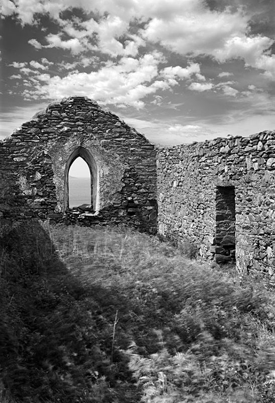 1247 - Derelict Church at Barnabaun 2 - Images from Ireland