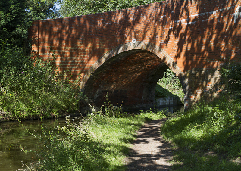 Dappled Bridge 65 - Worcester Birmingham Canal