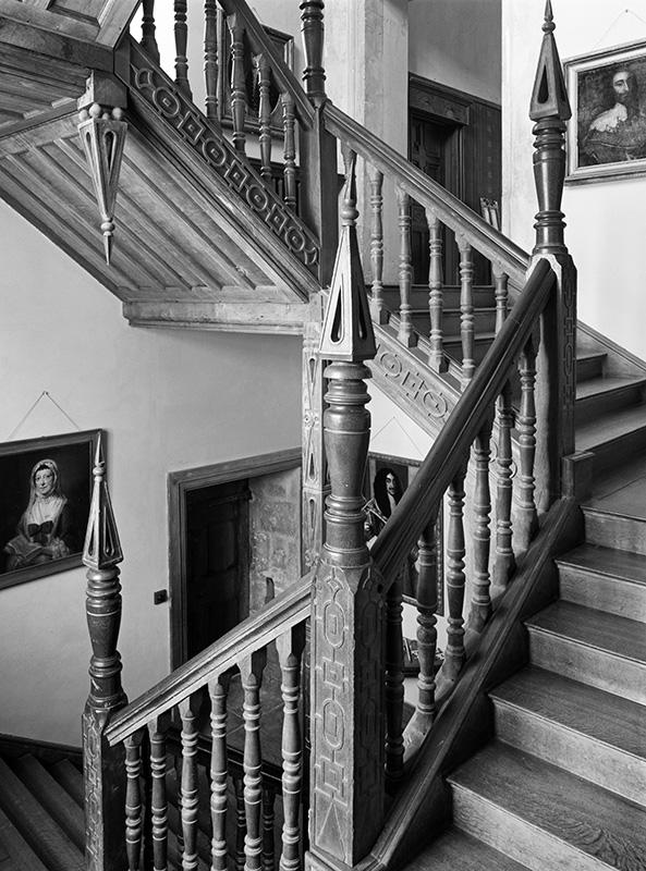 2458 - Chastleton House - Mid East Staircase - Chastleton House - National Trust