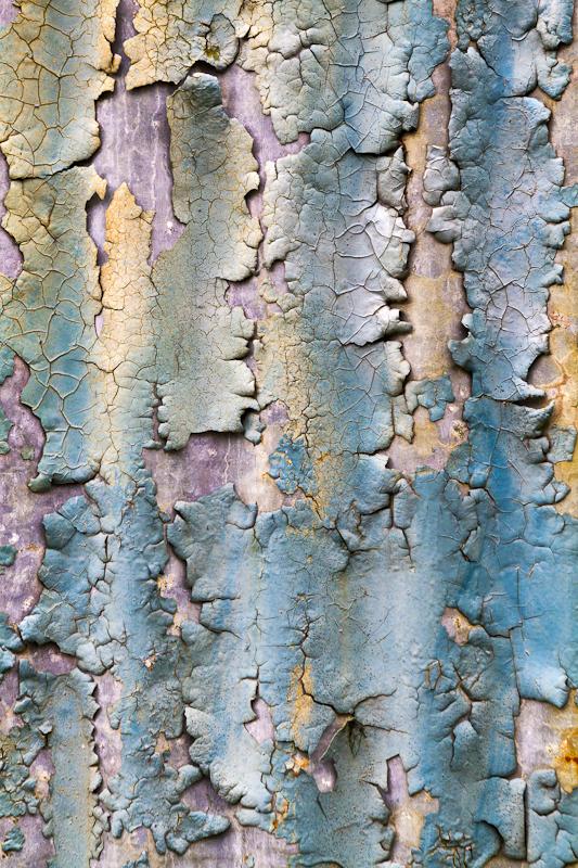 Pastel Paint Pattern - Worcester Birmingham Canal