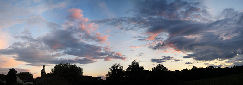 Mid Summer Sunset - Clouds & Skies