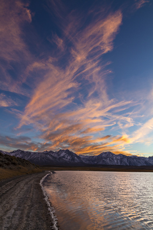 Owens Valley Sunset - 01 - Clouds & Skies