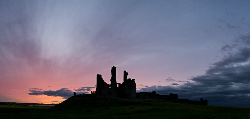Dunstanburgh Castle - 10:02pm - 28 June 2013 - Images from England