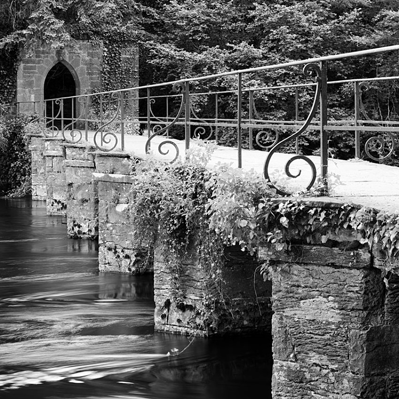 1224 - Cong Abbey Footbridge - Images from Ireland