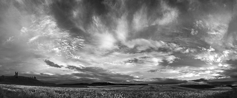 Dunstanburgh Skyscape - Images from England