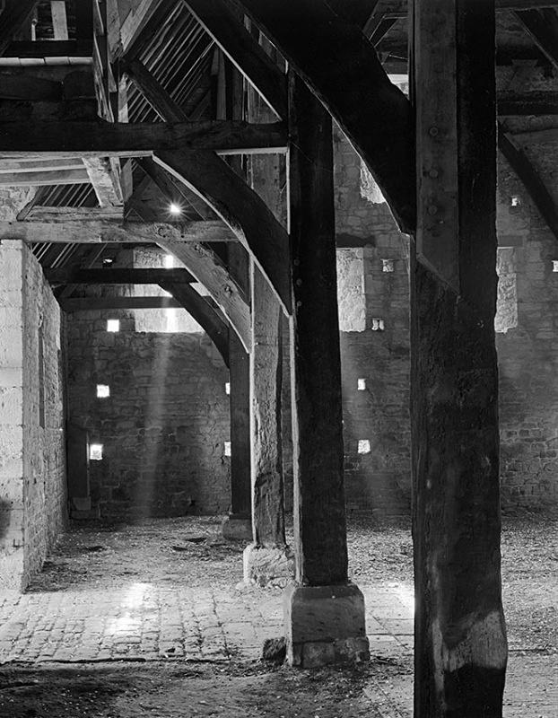 1383 - Inside Bredon Tithe Barn 3 - Barns & Buildings
