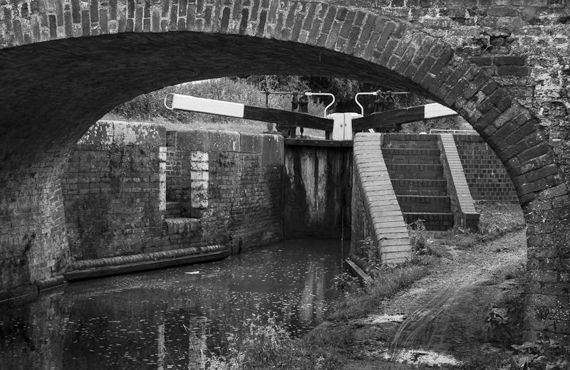 Bridge and Lock - Worcester Birmingham Canal