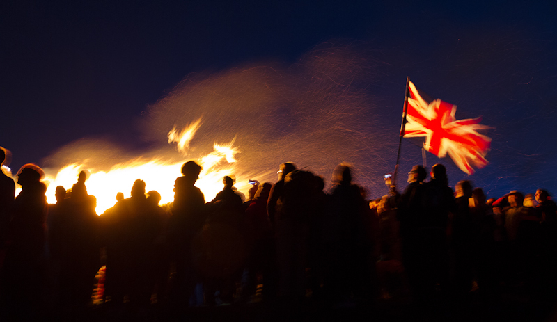 Diamond Jubilee Beacon on the Malverns - Fly the Flag - Other Work