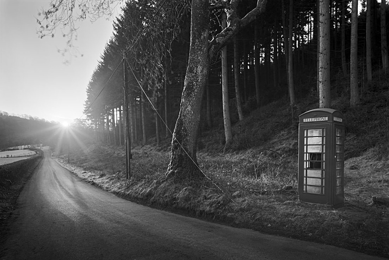 1360 - Grwyne Fawr - Telephone Box - Images from Wales
