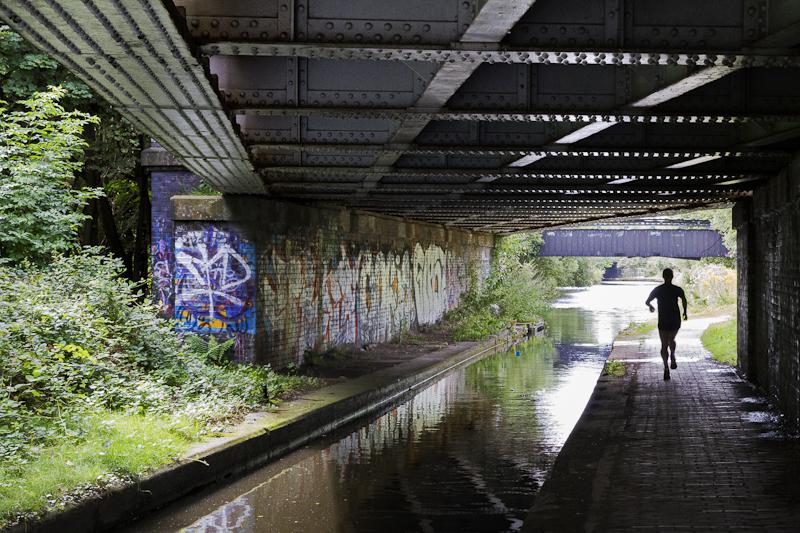 Jogger - Worcester Birmingham Canal