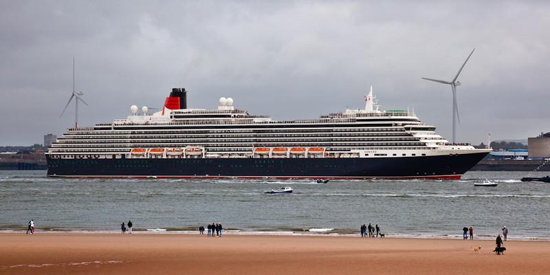 CUNARD QUEEN VICTORIA - Cunard Queens