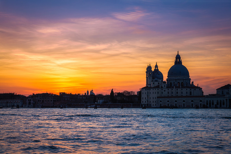 VENICE SUNSET - Colour
