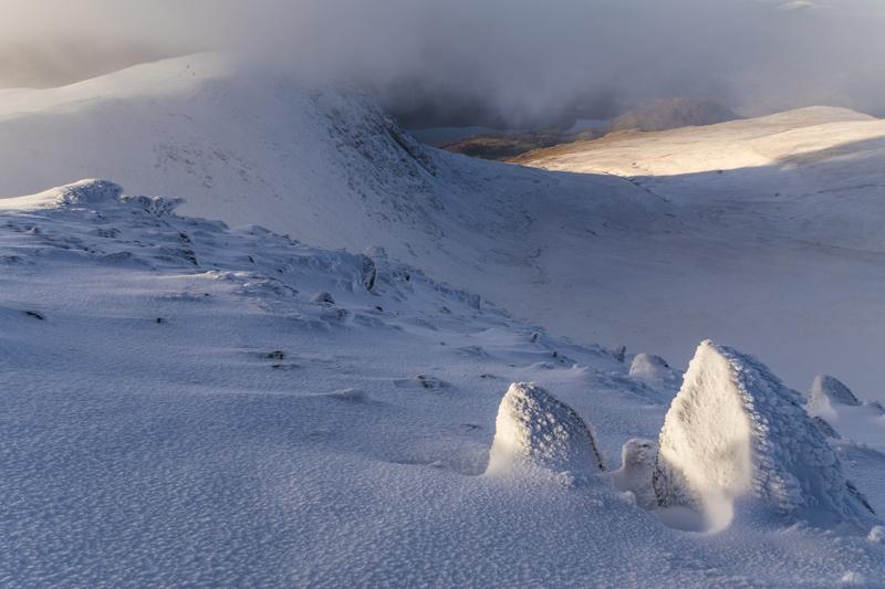 Frozen fells - Lake District & Cumbria