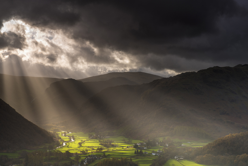 Borrowdale light - Lake District & Cumbria