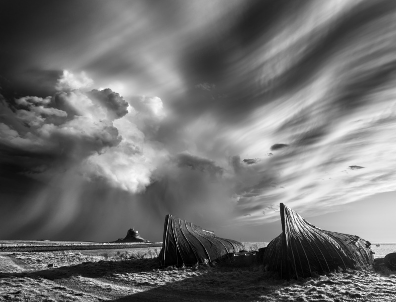 Lindisfarne. - Weather photography
