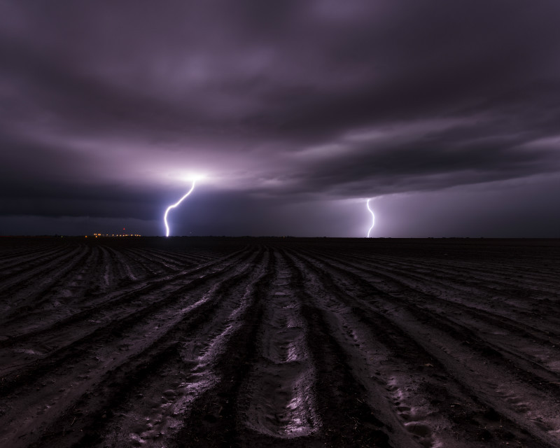 Thunderstruck - Storm photography