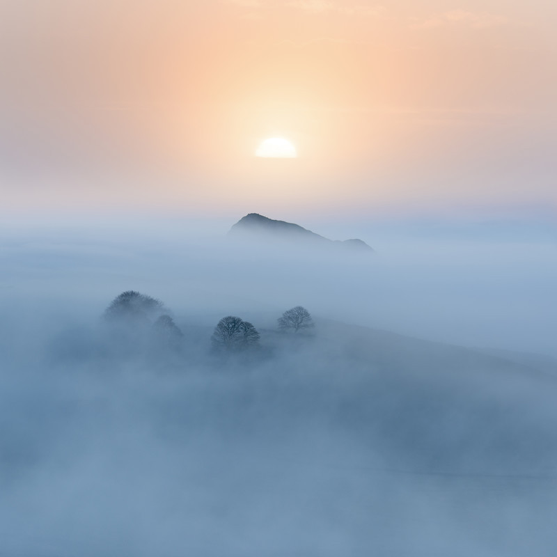 Pastel sunrise - Peak District & surrounding area