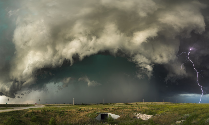 Kansas Thunder - Weather photography