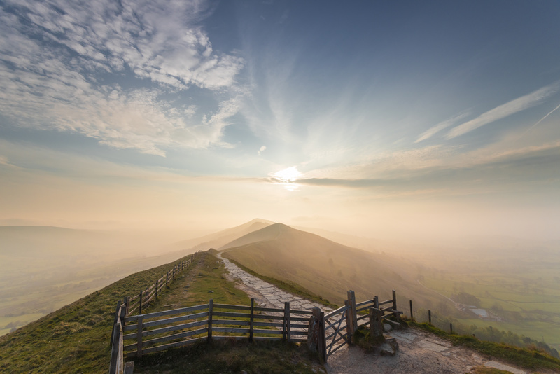 The Great Ridge sunrise. - Awarded and Published
