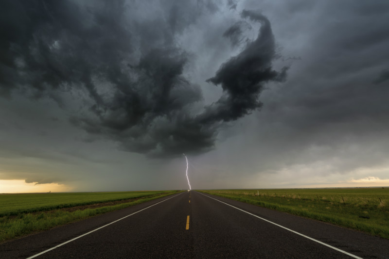 Highway to Hell - Storm photography