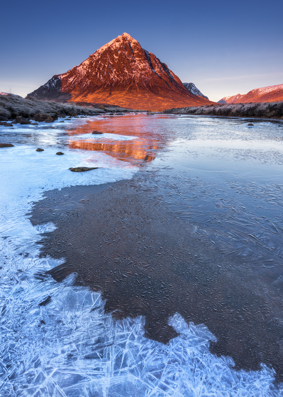River Etive and The Buachaille, Scottish Highlands - Scotland