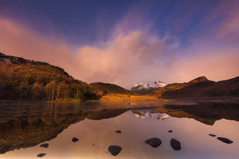 Blea tarn sunrise - Lake District & Cumbria