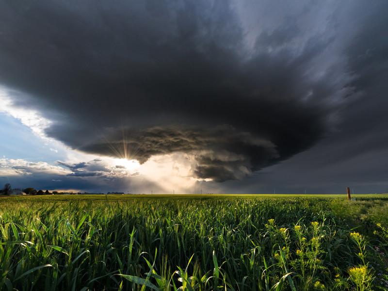 Arriba Mesocyclone Colorado - Storm photography