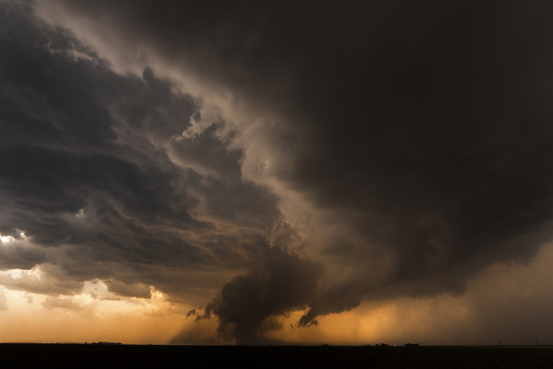 Tornado, Floydada, Texas - Storm photography