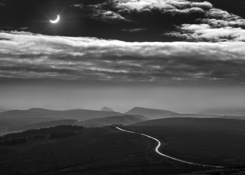 Moon shadow - Peak District & surrounding area