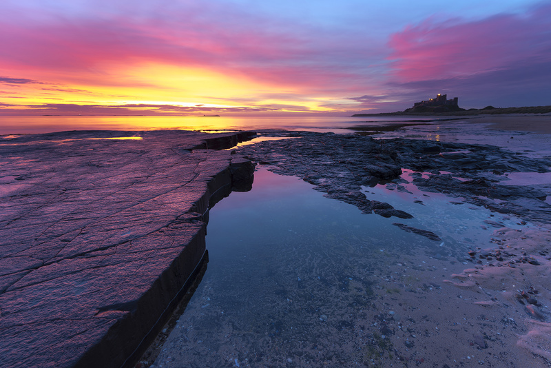 Bamburgh Castle. Northumberland. - Castles and Fortresses